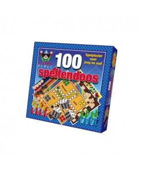 Clown Games 100 Spellendoos Blauw
