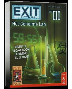 999 Games Exit Het Geheime Lab