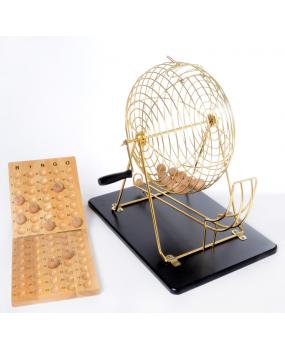 Metalen Lotto Bingomolen Compleet