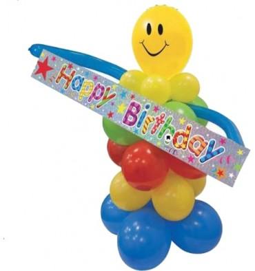 Ballonnenset Happy Birthday