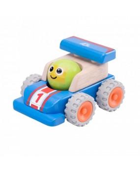 Wonderworld Houten Smiley Racewagen