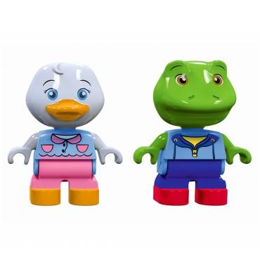 AquaPlay 235 Speelfiguren Eend en Kikker