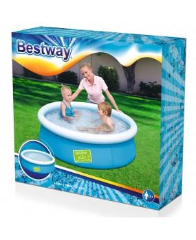 Bestway Zwembad met opblaasrand