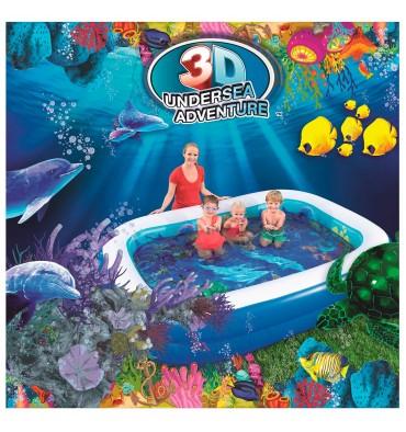 Bestway zwembad onderwater avonturen 2 rings