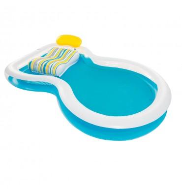 Bestway zwembad met lounge gedeelte
