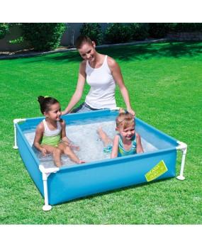 Bestway zwembad met stalen frame gekleurd