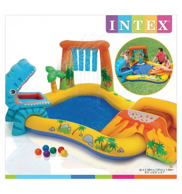 Intex speelzwembad dino's