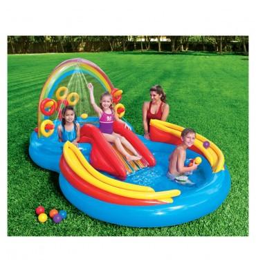 Intex speelzwembad regenboog
