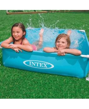 intex mini frame zwembad