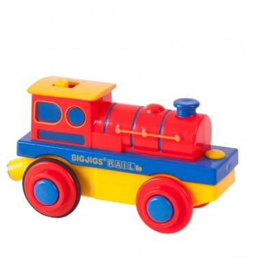 Bigjigs Stoomtrein Locomotief Elektrisch