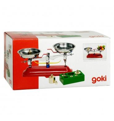 Goki weegschaal met gewichten