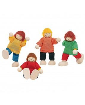 Goki Houten Poppenhuis Kinderen