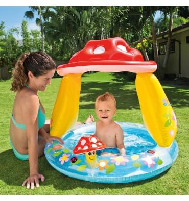 Intex Baby Zwembad Paddenstoel 102 x 89 cm