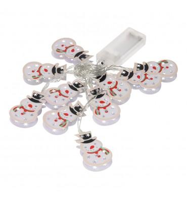 LED Slinger Kerst - Sneeuwpop
