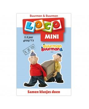 Mini Loco Buurman en Buurman Klusjes Groep 1-2 (4-6 jaar)