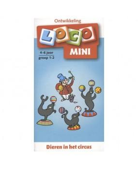 Mini Loco Dieren in het Circus groep 1-2 (4-6 jaar)