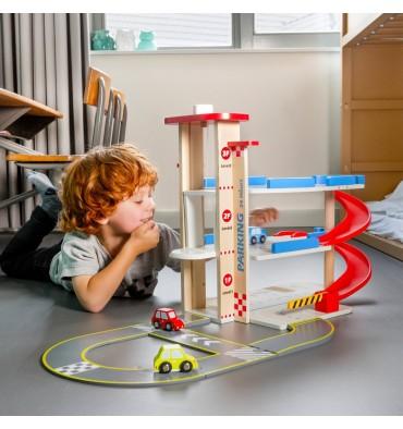 New Classic Toys Parkeergarage met autobaan