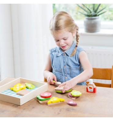 New Classic Toys Snijset Lunch Picknick box