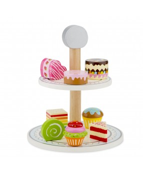 New Classic Toys etagère met cakejes