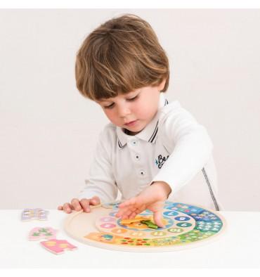New Classic Toys puzzelklok zon