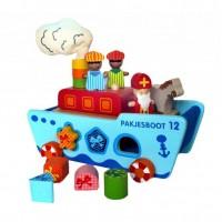 Sinterklaasboot met Pasvormen