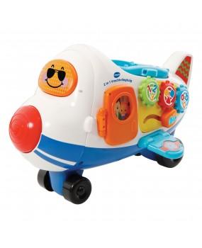 Vtech Toet Toet Auto's 2in1 Vliegtuig