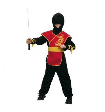 Verkleedset Ninja Meester 4-6 Jaar