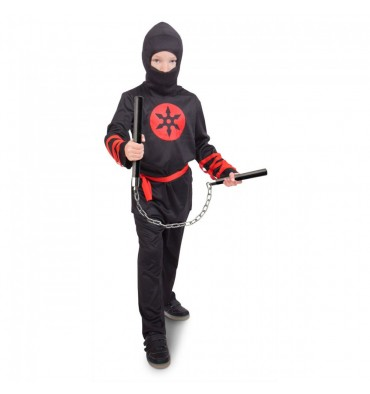 Verkleedset Ninja 9-11 Jaar