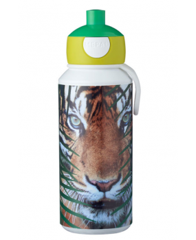 Mepal Campus Drinkfles Pop-up - Animal Planet Tijger