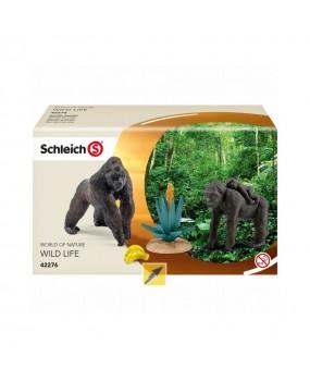 Schleich Gorilla Familie