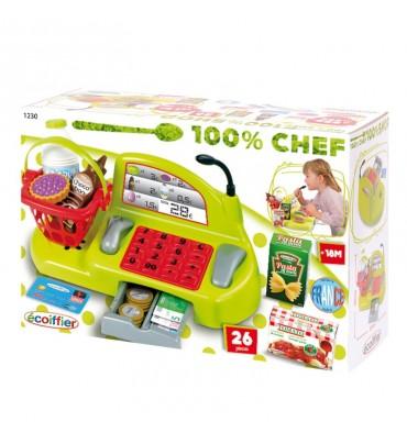 Ecoiffier 100% Chef Kassa