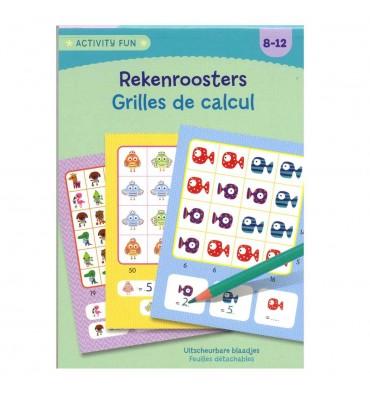 Activity Fun - Rekenroosters