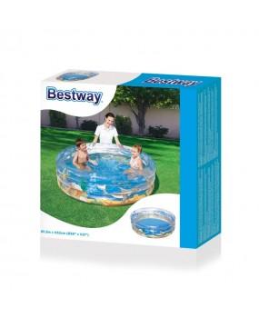 Bestway Zwembad, 3-rings 150 x 33 cm
