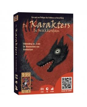 999 Games De weerwolven van wakkerdam karakters (uitbreiding)