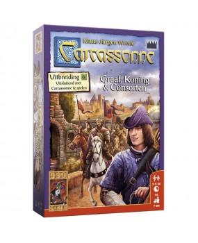 999 Games Carcassonne - Graaf, Koning en Consorten Bordspel