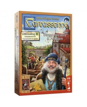 999 Games Carcassonne - Burgemeesters en Abdijen Bordspel