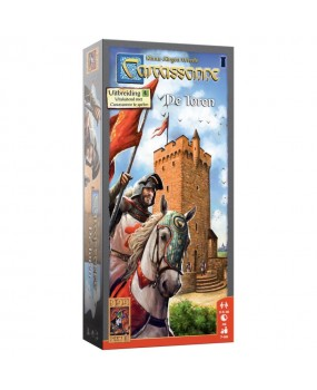 999 Games Carcassonne - De Toren Bordspel