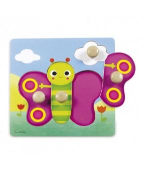 Goula Noppenpuzzel Vlinder