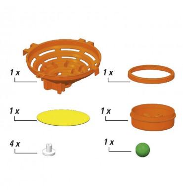 Clementoni Action & Reaction - Trampoline Knikkerbaan