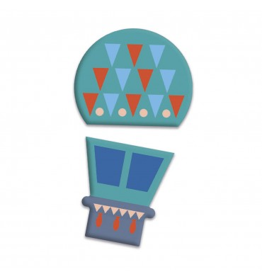 Clementoni Play for Future - Puzzel Voertuigen