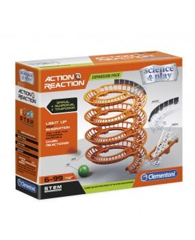 Clementoni Action & Reaction - Spiral Tracks