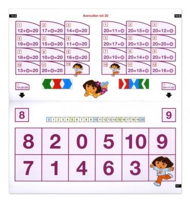 Mini Loco - Rekenen met Dora - Getallen tot 20 (6-7 jr.)