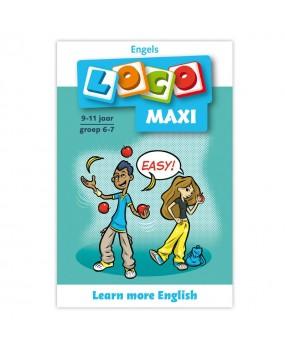 Maxi Loco - Learn more English (9-11 jaar)