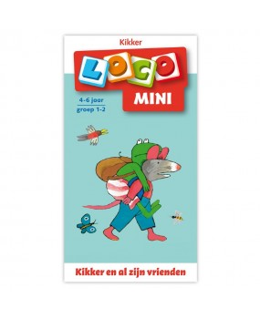 Mini Loco - Kikker en al z'n Vrienden (4-6)