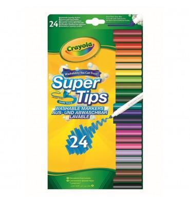 Crayola Viltstiften met Superpunt 24 stuks