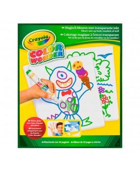 Crayola Color Wonder - Tekenblok, 30 pagina's