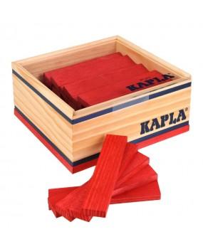 Kapla, 40 Plankjes Rood