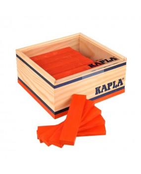 Kapla, 40 Plankjes Oranje