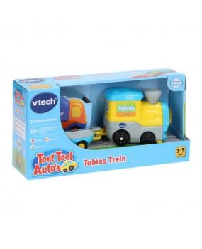 VTech Toet Toet Auto's - Tobias de Trein met Aanhanger