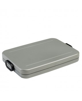 Mepal Lunchbox Take a Break Flat - Silver